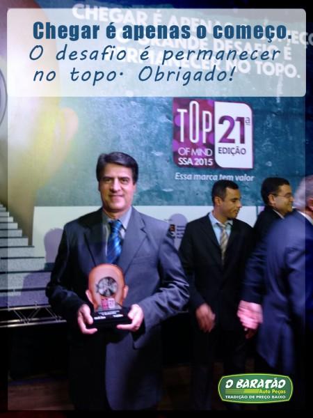 O Baratão – Vencedor Top of Mind 21° Edição
